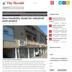 New feasibility study for industrial park project