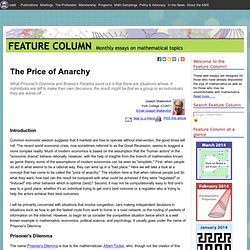 American Mathematical Society :: Feature Column