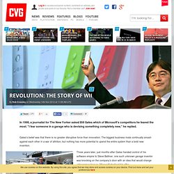 Wii Feature: Revolution: The story of Wii