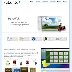 Feature Tour | Kubuntu