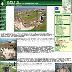 Skara Brae Feature Page on Undiscovered Scotland