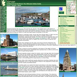 Girvan Feature Page on Undiscovered Scotland