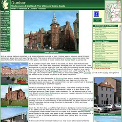 Dunbar Feature Page on Undiscovered Scotland