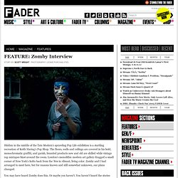 FEATURE: Zomby Interview