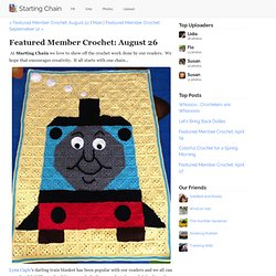 Featured Member Crochet: August 26 - Starting Chain