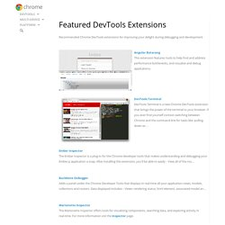 Featured DevTools Extensions
