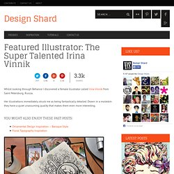 Featured Illustrator: The Super Talented Irina Vinnik | Design Shard