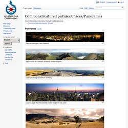 Commons:Featured pictures/Places/Panoramas