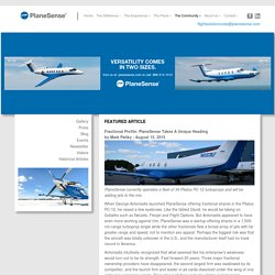 PlaneSense® Programs