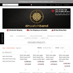 Featured Products - DrWatchBand