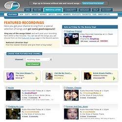 Featured Song Recordings, Top Karaoke Songs