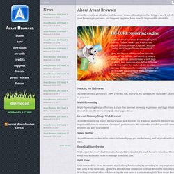 Avant Browser::Home