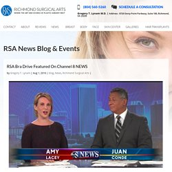 RSA Bra Drive Featured On Channel 8 NEWS
