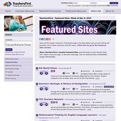 Featured Sites
