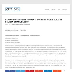 Featured Student Project: Turning our Backs by Felicia Emanuelsson