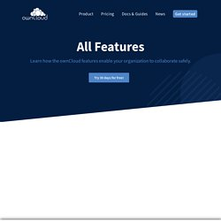 OwnCloud.org - Features