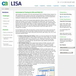 LISA Features: Automated UI Testing