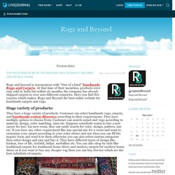 Top features of Rugs and Beyond that makes it the Best Online Rug Store - Rugs and Beyond