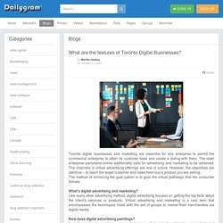 What are the features of Toronto Digital Businesses?