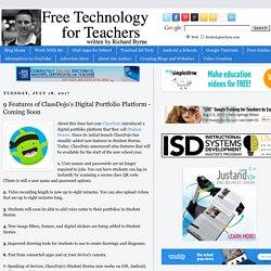 9 Features of ClassDojo's Digital Portfolio Platform - Coming Soon