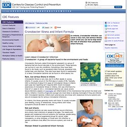 Features - Cronobacter Illness and Infant Formula