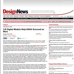 3-D Digital Models Help NASA Succeed on Mars - 2010-03-01 05:00: