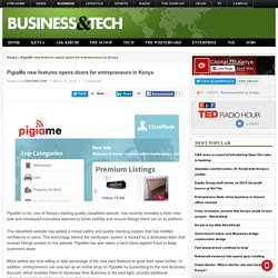 PigiaMe new features opens doors for entrepreneurs in Kenya - Capital Business