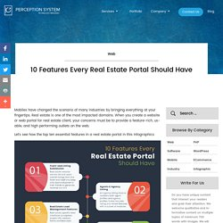 10 Features Every Real Estate Portal Should Have