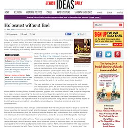 Holocaust without End