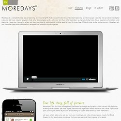 Features that killing others - MOREDAYS, Inc.