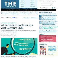 4 Features to Look for in a 21st Century LMS