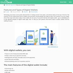 Features and Types of Digital Wallets