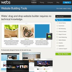 Features - Webs.com