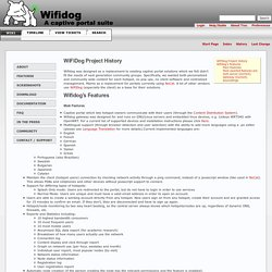 Features – WiFiDog