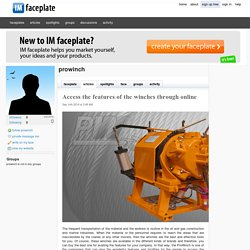 Access the features of the winches through online by prowinch