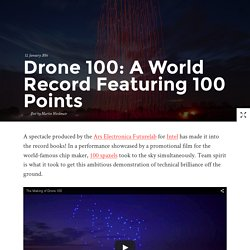 Drone 100: A World Record Featuring 100 Points