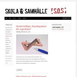 februari 2018 – Skola och Samhälle