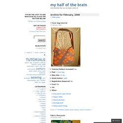 2008 February « my half of the brain