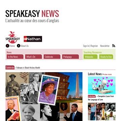 February is Black History Month – Speakeasy News