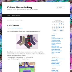 Knitters Mercantile Blog