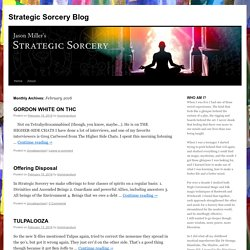 Strategic Sorcery Blog
