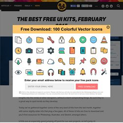 The best free UI kits, February 2015