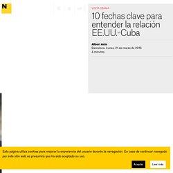 10 fechas clave para entender la relación EE.UU.-Cuba
