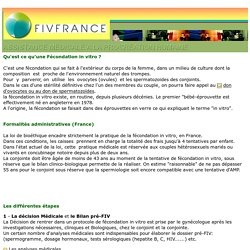 fecondation in vitro - france - fiv - icsi - forums - video - films - diaporamas