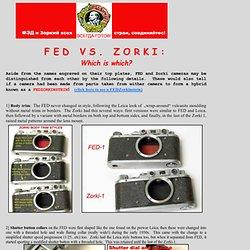 FED vs Zorki