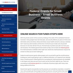 Government Grants for Small Business