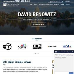 DC Federal Criminal Lawyer