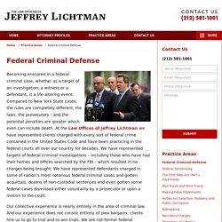 New York Federal Criminal Defense Lawyers