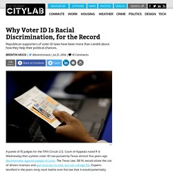 Federal Court Finds Texas Voter ID Law Discriminates Against Black and Latino Voters