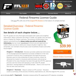 Federal Firearms License Guide - FFL123